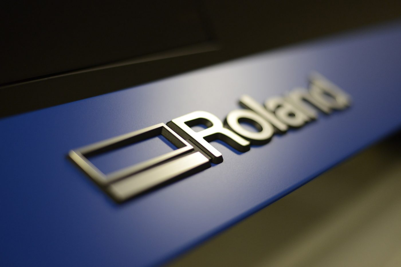 Roland wide format printing machine